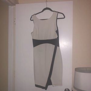 Black and White Racing Inspired Dress Modcloth L